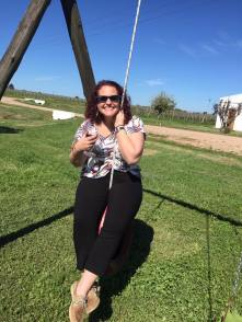 Swinging with some wine