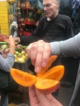 Tastes like a papaya