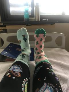 Muchas Gracias, Erin! I love my caliente socks!