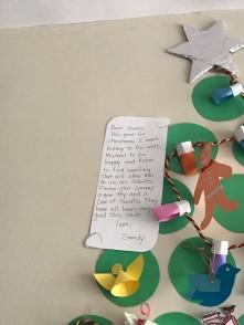 A note to Santa