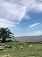 The river between Buenos Aires and Colonia